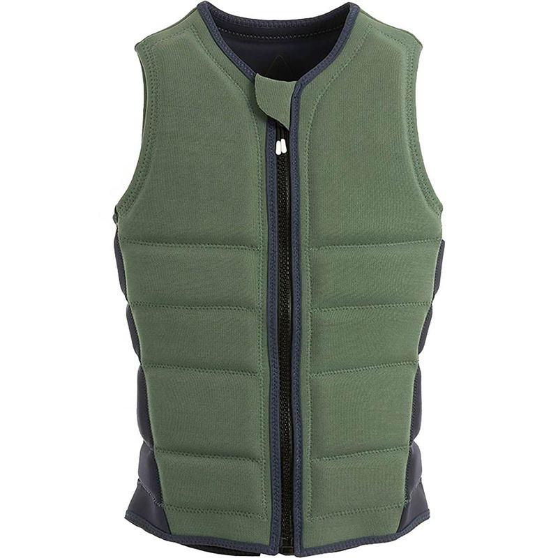 Hot Sales Wholesales Custom High Quality Epe Foam Vest Adult Zipper Factory From China Life Jacket