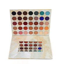 35 Colors Container Cream Packaging Magnetic Eyeshadow Nude Palette