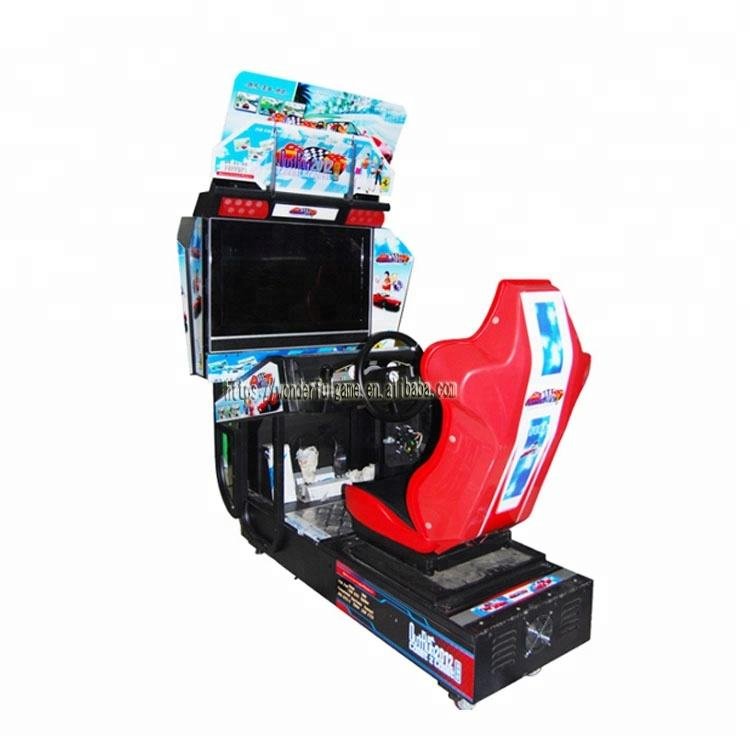 Cheapest Out Run Video Electronic Simulator Racing Car Arcade Game Coin Operated Machines