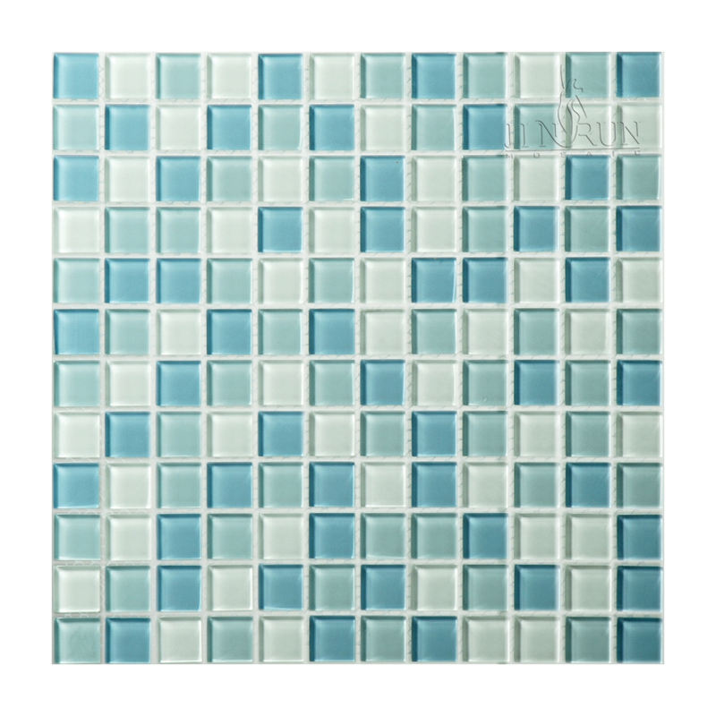 swimming pool glass mosaic tiles manufacture factory price