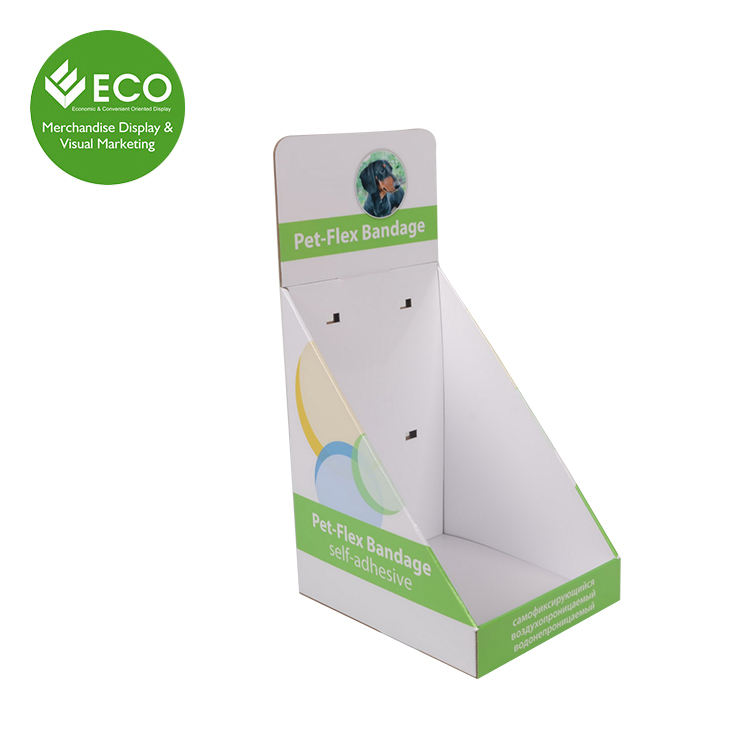 Cheap Price Customized Cardboard Pop Up Small Counter Display Racks Promotion