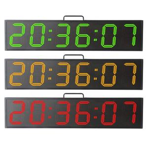 Draagbare 6 Inch 6 Cijfers Sport Timing Digitale Stopwatch Countdown Timer Sport