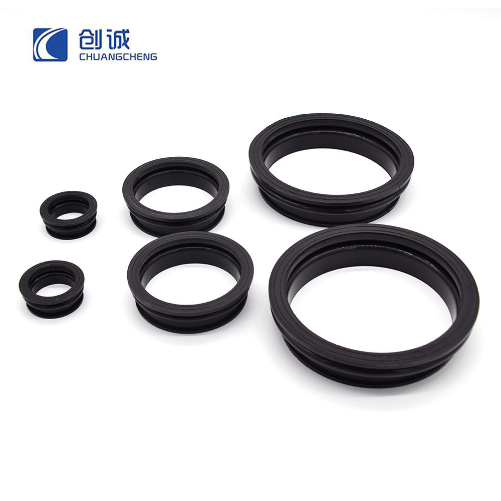 Molded Silicone Waterproof Push Rod Seals Rubber Bellow & Dust Boots John Crane Mechanical Seal