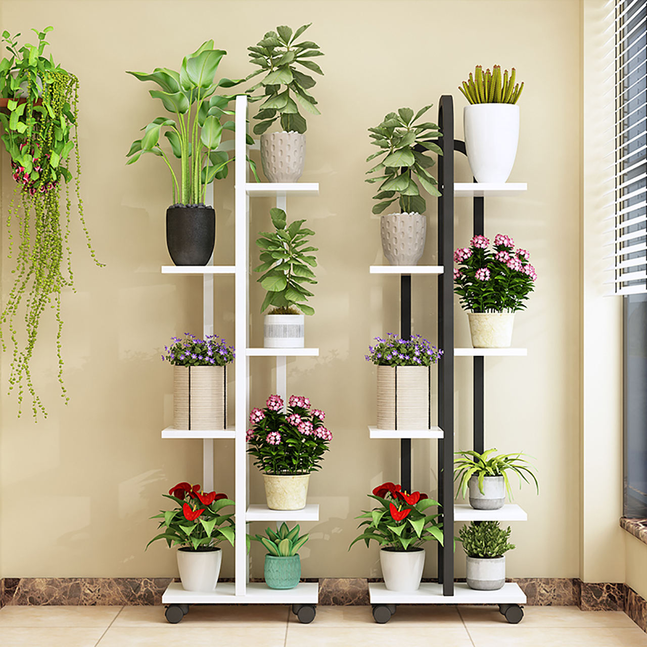 Amazon Hot Sell Flower Stand for Indoor Adjustable Plant Stand Office availability Large amount of cheap