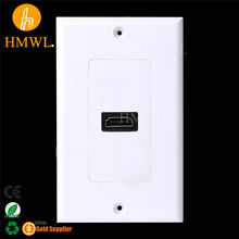 1 port 70*115mm US type HDMI Wall Faceplate