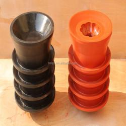 API standard oil drilling cementing plug,ruber hole plug