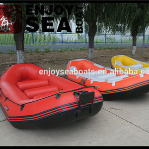 River boat rafting with self bailing system bottom reinforced AR-410 for sale!!!