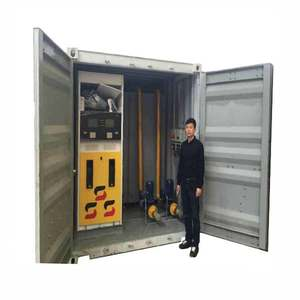 ISO 20000L-50000L 40 HQ Container mobile 연료 역/mobile filling 역