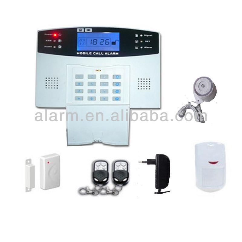 Экономическая 99 жк-двойной часовой пояс беспроводной gsm сигнализация vip-606c, Домашний-используется охранной сигнализации