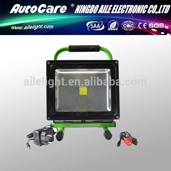 autocare 12volt-230volt 30w LED 빛 충전식 휴대용 주도 홍수 빛