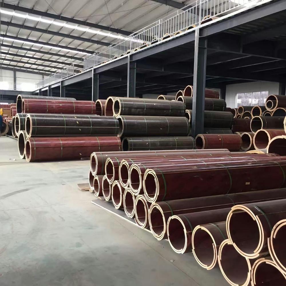 shuttering for columns concrete forming tube column shuttering material