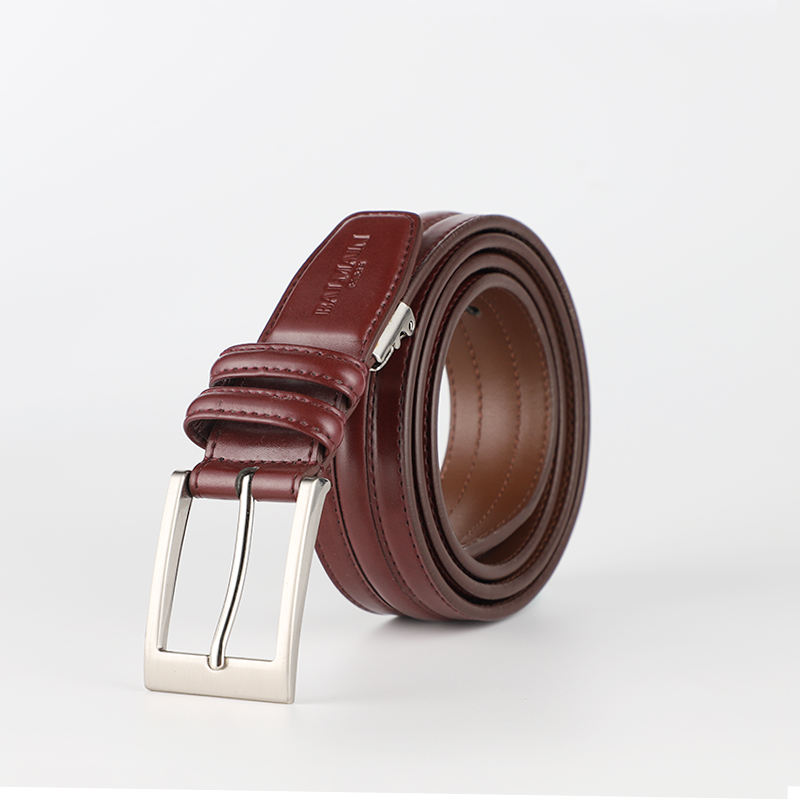 Made to Order Fashion Split Leather Man Belt in Stock