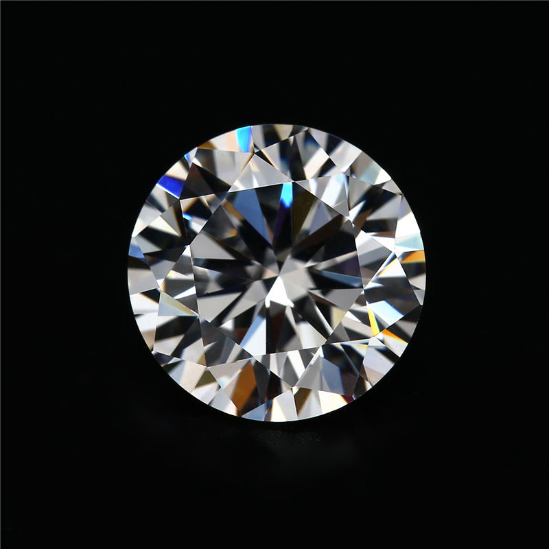 Wholesale Synthetic Gemstone D color White Round brilliant Cut Loose Moissanite