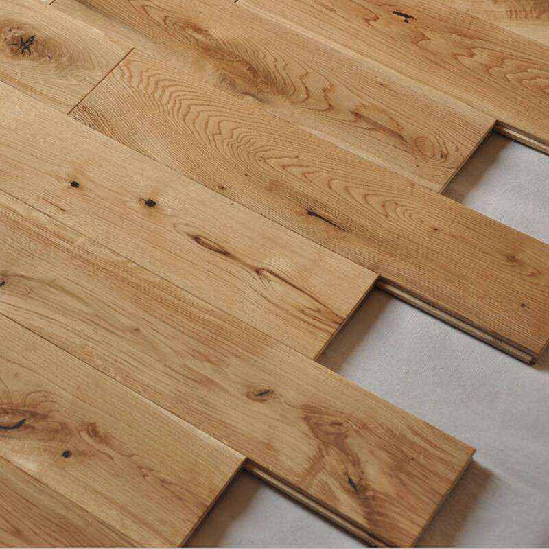 125mm wide natural white oak solid wood flooring solid white oak hardwood flooring