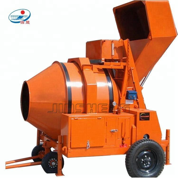 Steel Concrete Mixer 120L 450W Cement Mortar Mixing Machin Construction Industry