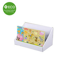 Cheap Price Showroom Cardboard Book Counter Designs Display Wholesale