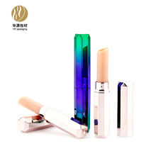 Upscale octagon 9mm pencil tube lip liner container mini lipstick tube cosmetic packaging