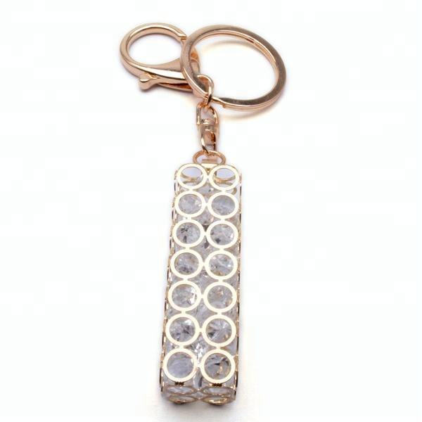 Chinese Factory Directly Selling Fancy Handbag Crystal Key Chains