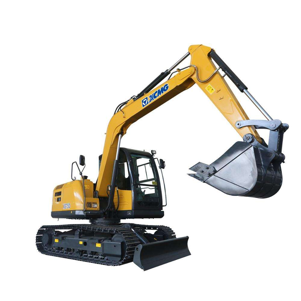 XCMG XE75D 7000kg new brand micro excavator for sale