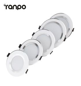 Ranpo Led אור Downlight 10W 12W 7W 5W 3W ניתן לעמעום Led Downlight 220V 110V 3 שנים אחריות