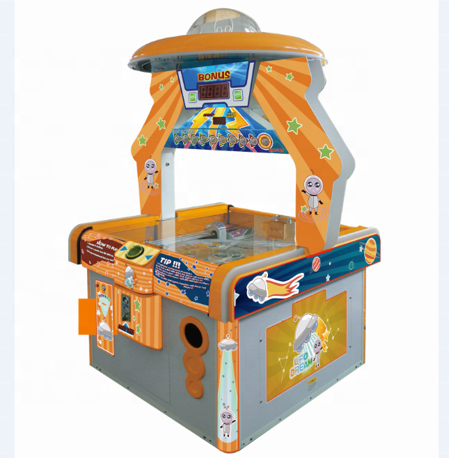 UFO DROOM ticket verlossing game machine