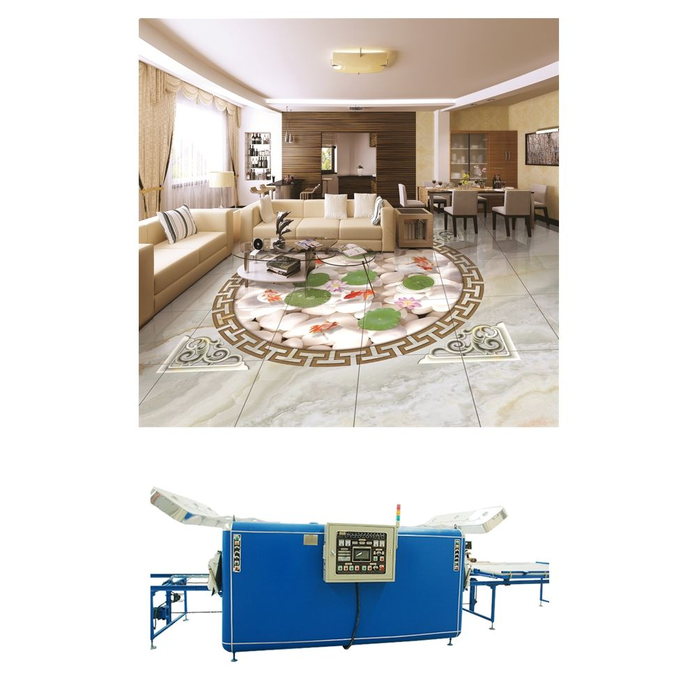 New designs 3D ceramic floor/wall tile making machine