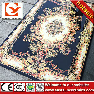 china supplier low price for 1200x1200mm printed removable carpet tile