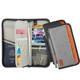 Leather Personalized Custom Rfid Pu Saffiano Travel Wallet Passport Holder
