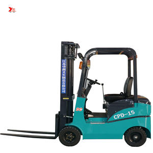 CE approved 1 ton 1.5 ton small electric forklift with high quality