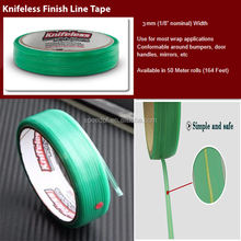 New Flexible 3.5MM x 50M Car Wrap Design Application Cutting Lines Tools Knifeless Tape
