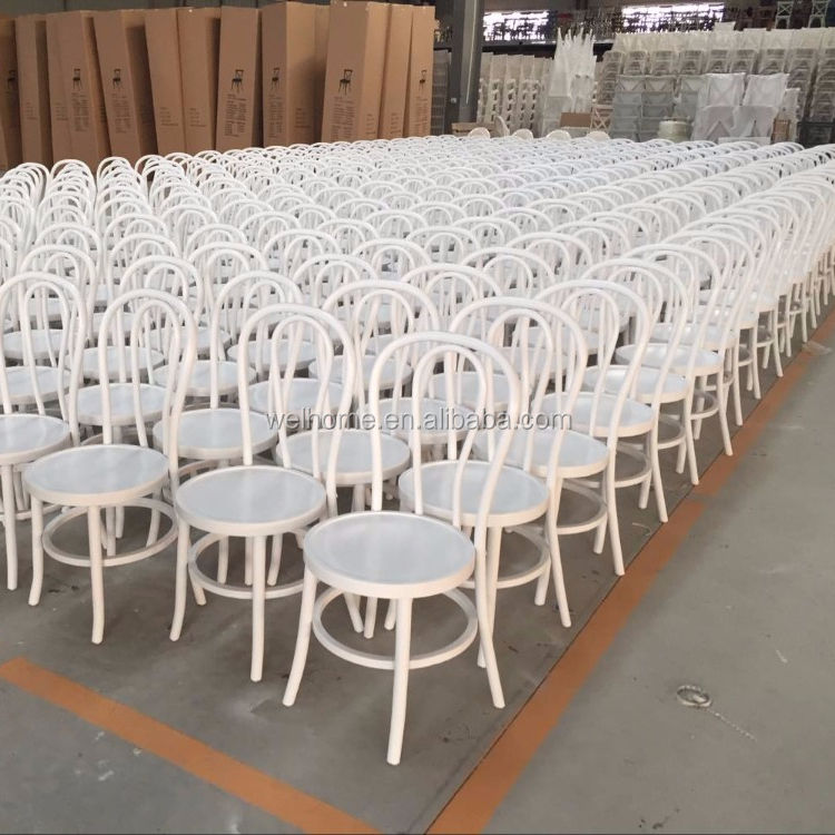 Wholesale White Bentwood thonet chair french style solid cafe chair