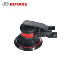 Best quality Industrial high speed air orbital sander / pneumatic polishing machine - Central vacuum type