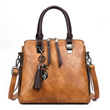 Wholesale custom PU leather female crossbody bags girl hand bag hand carry bag tote shoulder ladies handbags