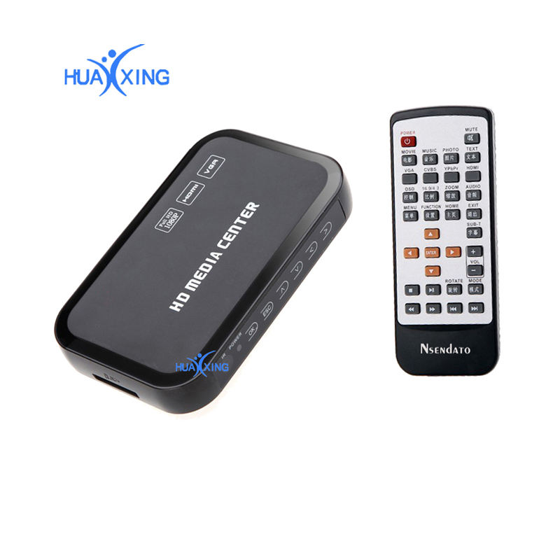 1080 P HD Multimedia HDD Pemain, Usb & Sd Kartu Ekspansi Blue-Ray Disc & 3D Media Player
