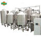 30bbl four vessel steam heated beer making machine with necessary accessories