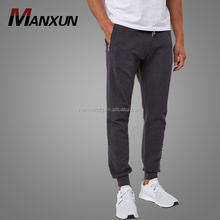 Wholesale Custom 100% Cotton Skinny Running Mens Track Pants Jogger