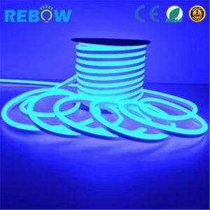 China Wasserdicht pool licht 12 v 24 v RGB led neon flexible streifen IP68 led neon flex
