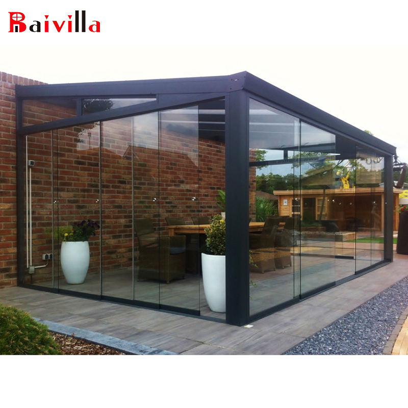 Sunroom Aluminum Garden Greenhouse Outdoor Glass Room aluminium outdoor room