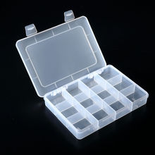 High quality 12 compartments plastic tool storage box