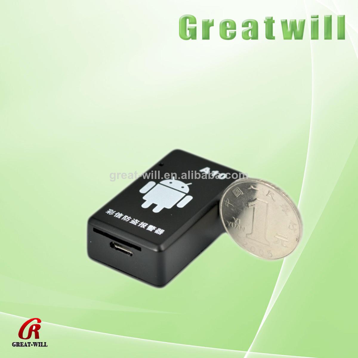 mms de alarma eléctrica micro modelo gsm gps tracker