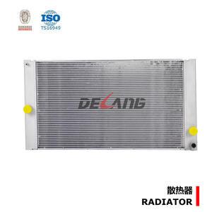 Alu agua radiador para volvo 8601843