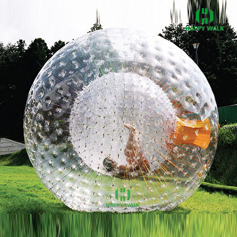Body game 0.8mm or 1.0mm PVC or TPU high quality human body hamster ball roller zorb ball
