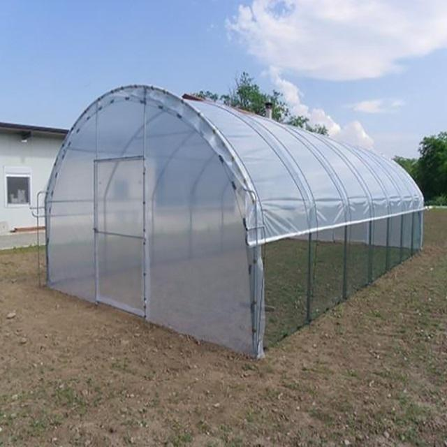 The Cheapest Agricultural Film Covered Single Span Greenhouse