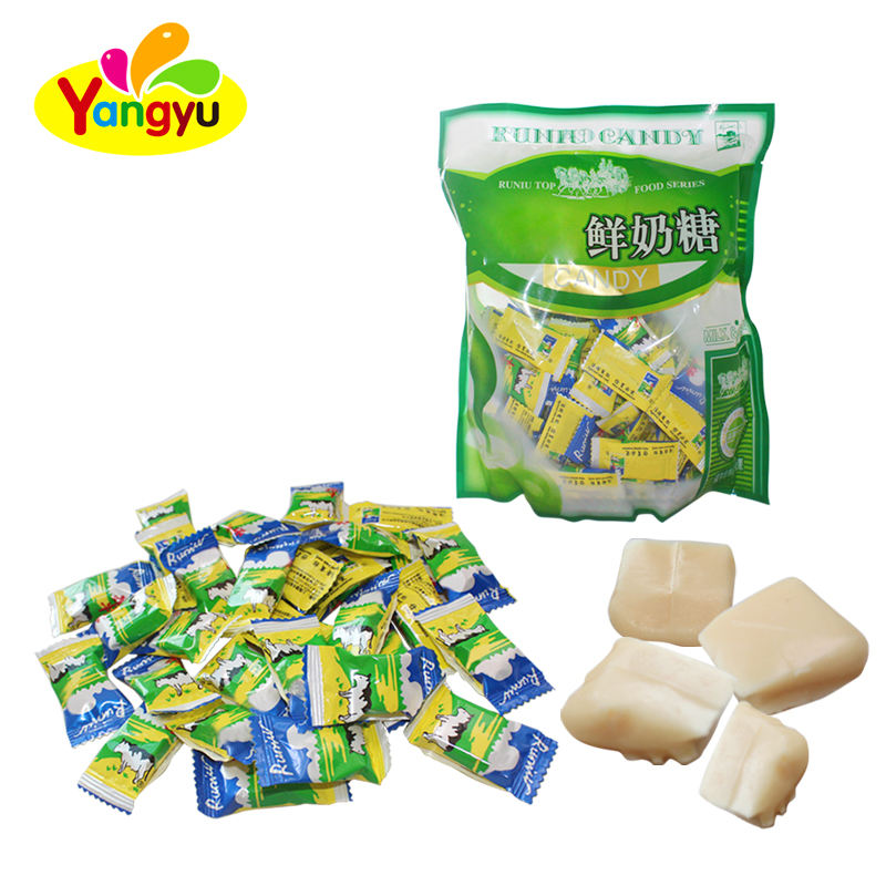 High Quality Sweet Fresh Soft Milk Chewy Candy