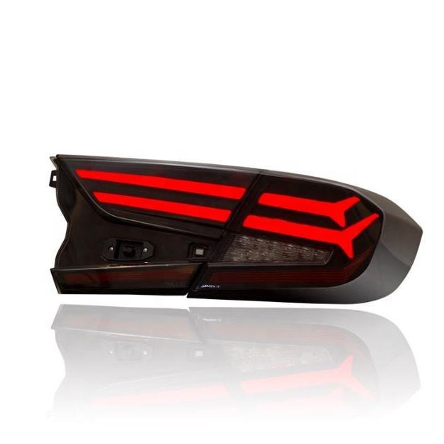 VLAND wholesales new design Sequential 2019 tail lamp full led tail light 2018 2019 For Honda Accord