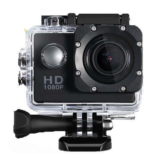 Factory Promotion hottest720P action camera cam full hd action cam waterproof full hd 720p sports camera