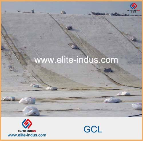 Bentonite Clay Pond Liner Bentonite Geosynthetic Clay Liner For Evaporation Ponds
