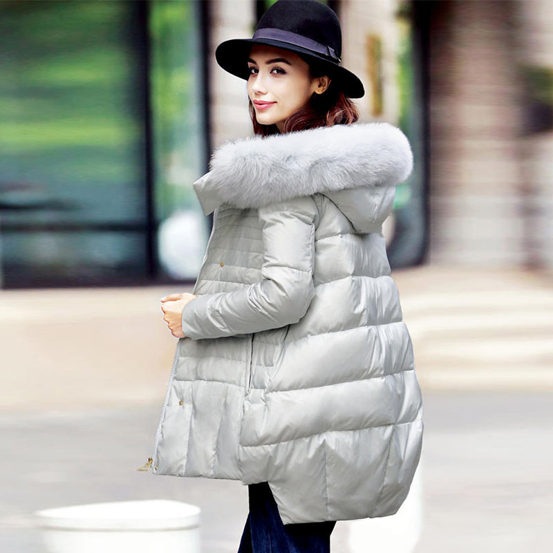 Reliable and Good yellow winter coat women's spring fur with price for sale