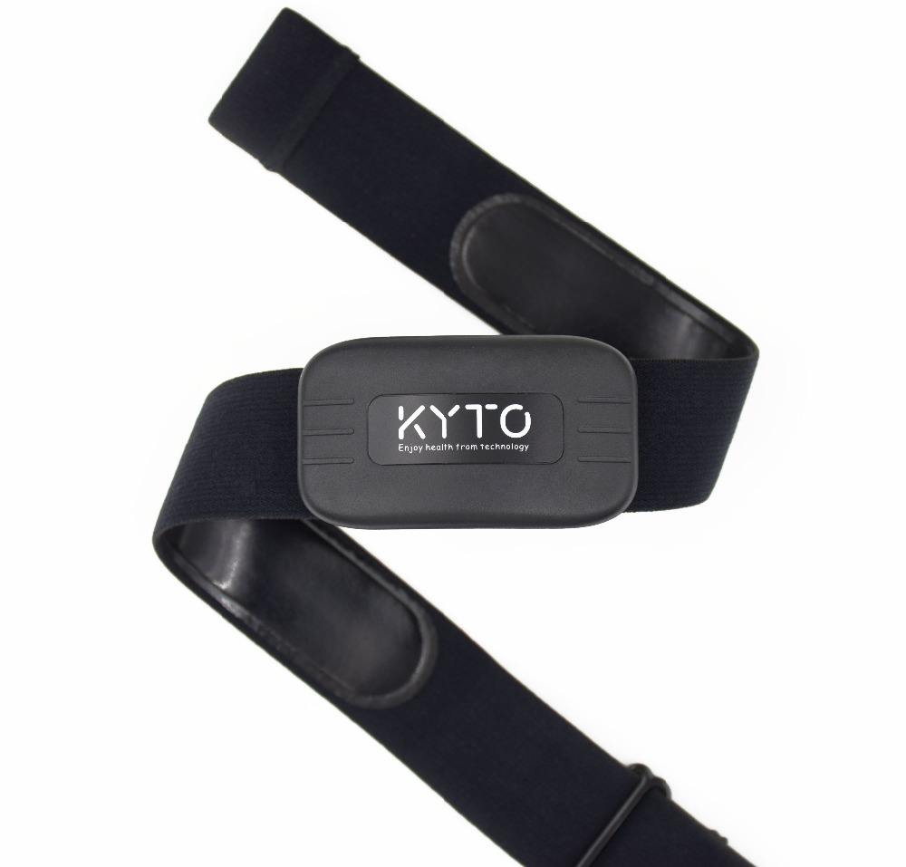 Heart Rate Monitor Chest Strap Bluetooth 4.0 ANT Fitness Sensor Outdoor Band KYTO2809