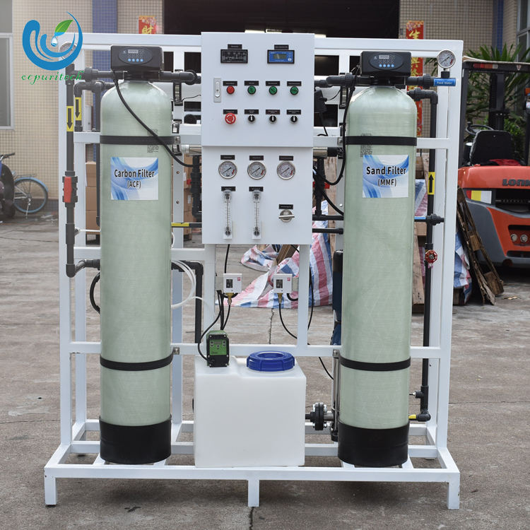 Industrial sea water reverse osmosis drinking water plant system for sale